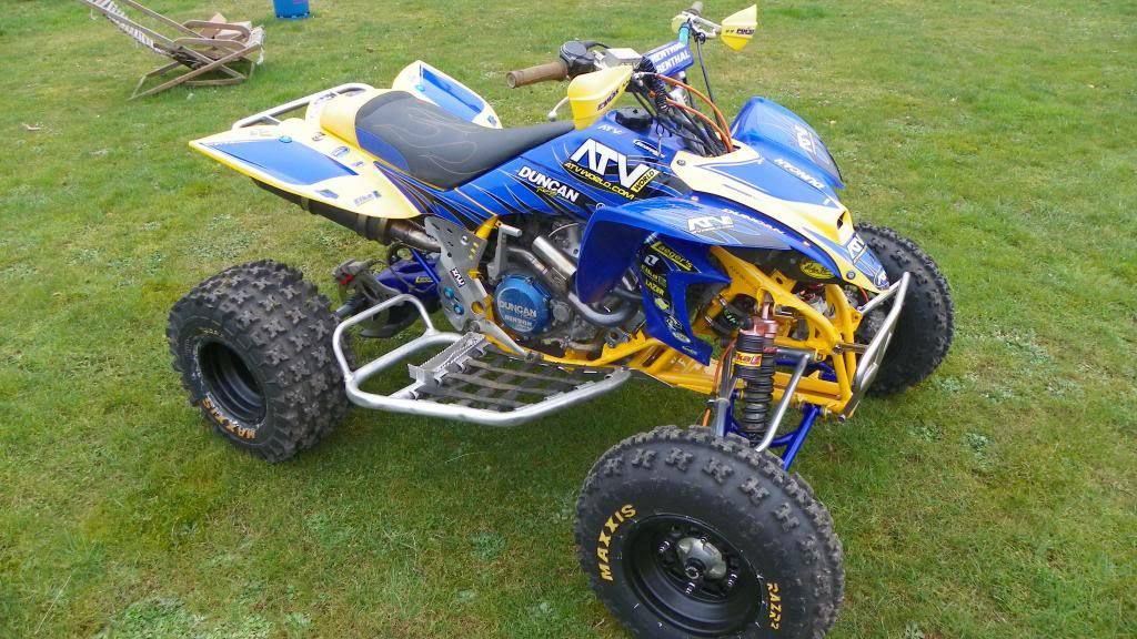 Yamaha yfz450 race quad atv for What year is my yamaha atv
