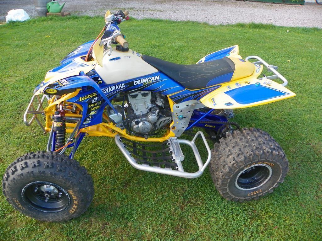 Yamaha YFZ450 race quad ATV