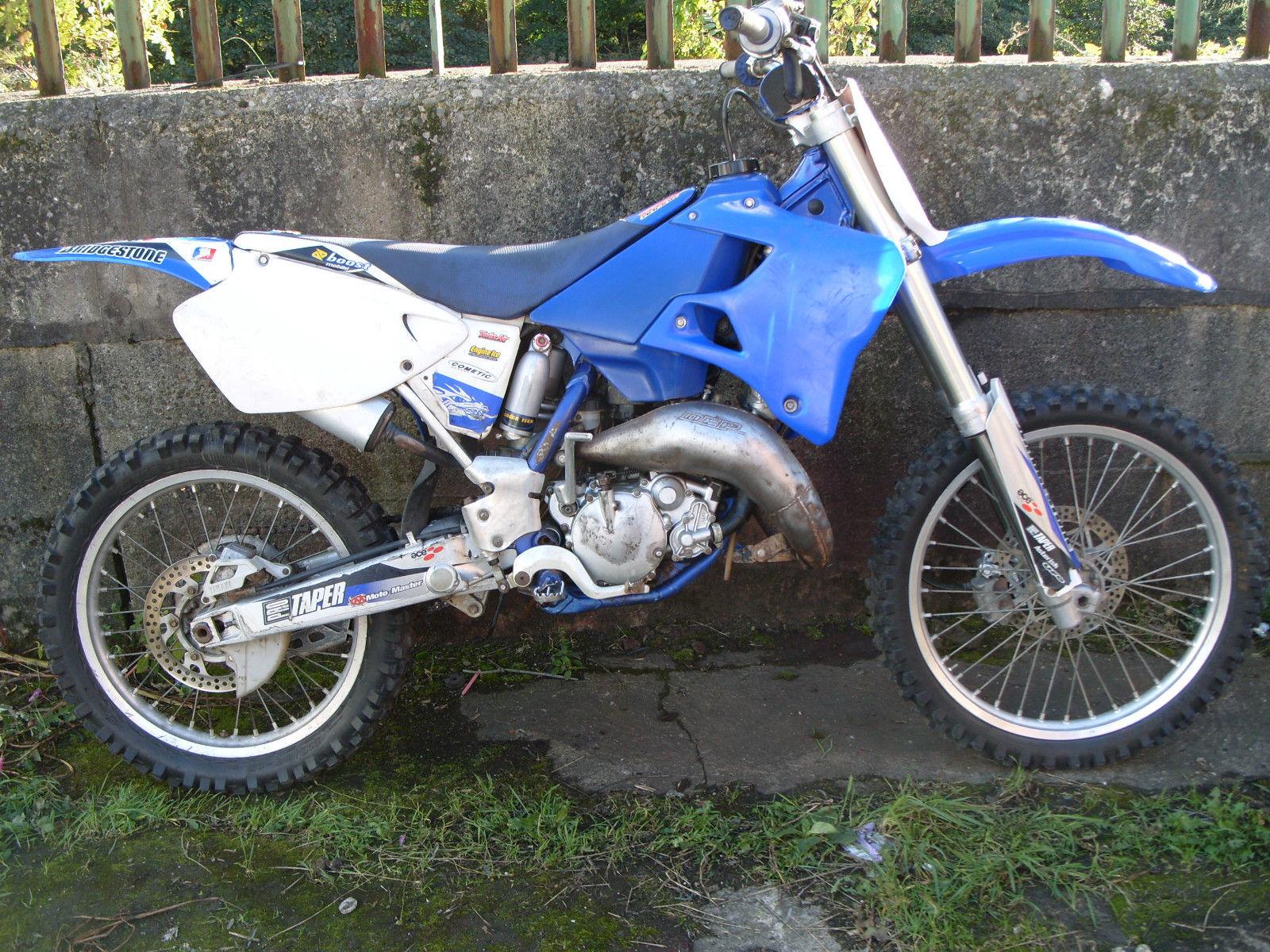 2001 Yamaha YZ 250 F: pics, specs and information