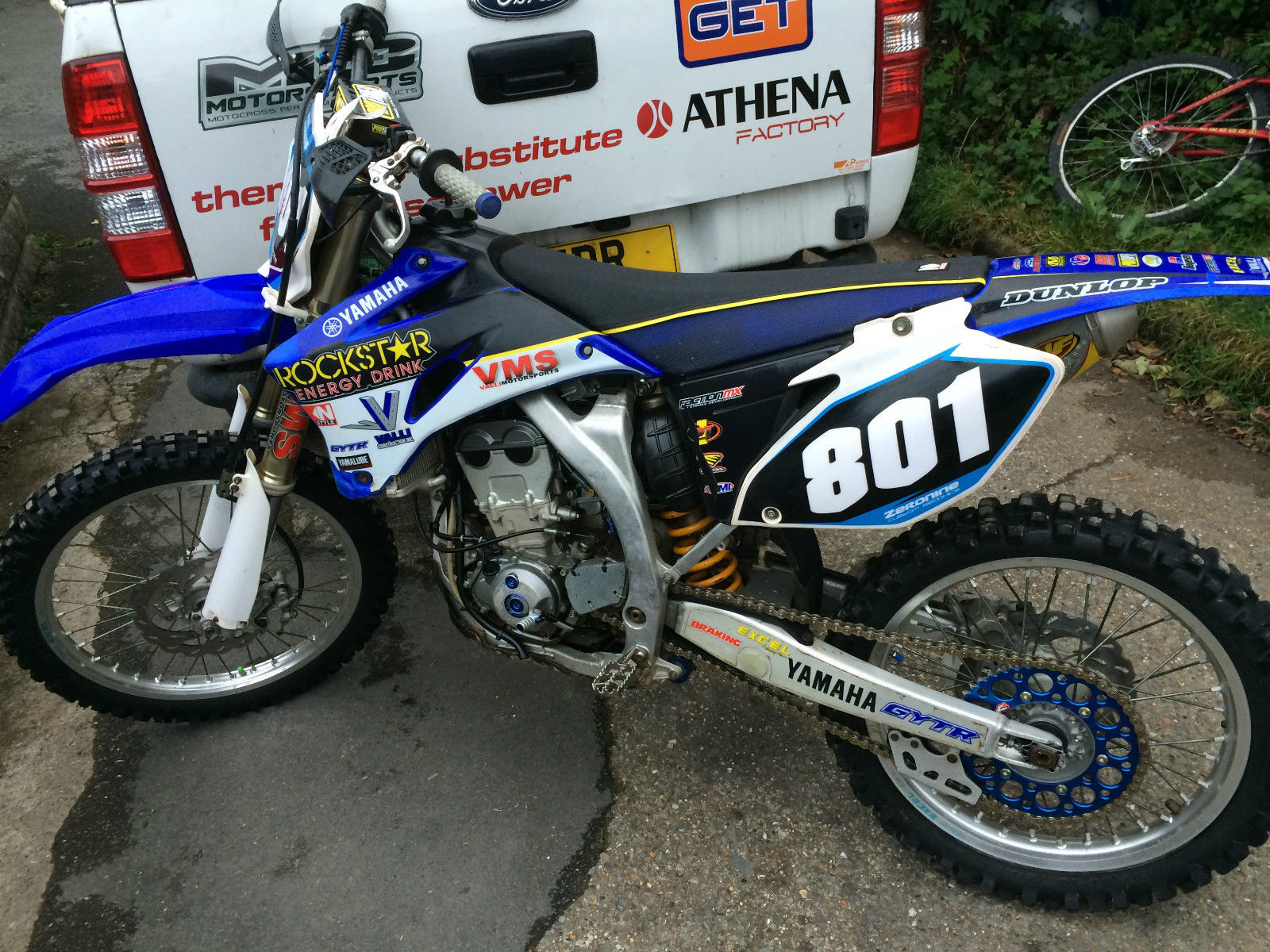 Yamaha yzf 250 mx 4 stroke 2008 for Yamaha 250 four stroke
