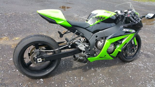 Zx10r 2012 Stretched Flashed Ecu 180hp